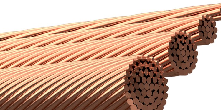 Can an insulated copper conductor be used for a ground grid?